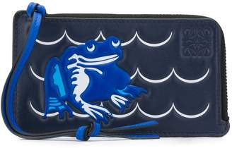 Loewe frog-debossed coin purse