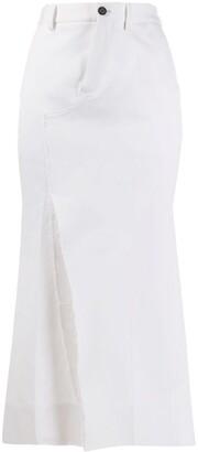 Marni Slit Tulip Skirt