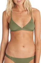 Billabong Women's It's All About The Triangle Bikini Top