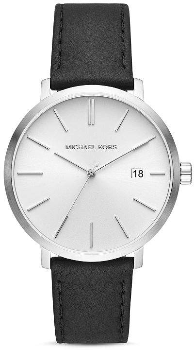 b2da2344731f Michael Kors Mens Leather Watch - ShopStyle