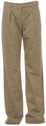 Alexis Mabille Khaki Cotton Trousers