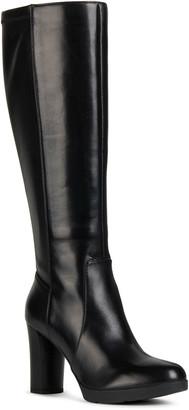 Geox Anylla 5 Napa Block-Heel Riding Boots