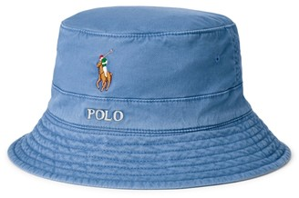 Ralph Lauren Stretch-Cotton Bucket Hat