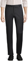 Isaia Solid Woven Trousers