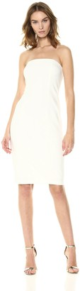 Donna Morgan Women's Strapless Crepe Sheath Dress