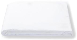 Matouk Luca Hemstitch Fitted Sheet - White Twin