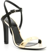 Lanvin Striped Sandals