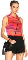 Raquel Allegra Icon Top in Ombre & Tie Dye,Pink,Red.