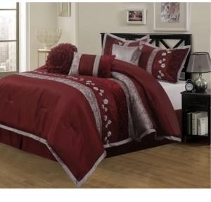 Nanshing Riley 7-Piece King Comforter Set Bedding