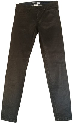 Sportmax Black Cotton Jeans for Women