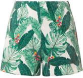 Rachel Zoe Miley Sequined Crepe Shorts - Green