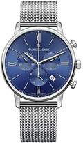 Maurice Lacroix Men's 'Eliros' Swiss Quartz Stainless Steel Casual Watch, Color:Silver-Toned (Model: EL1098-SS002-410-2)