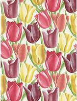 Sanderson Early Tulips Wallpaper, DVIWEA103, Aubergine / Red