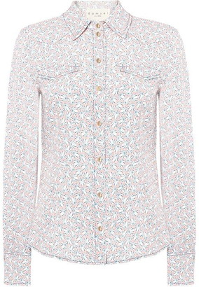 Damsel in a Dress Cecilly Printed Shirt