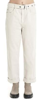 Brunello Cucinelli Belted Wide-Leg Jeans