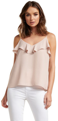 Forever New Summer Ruffle Cami
