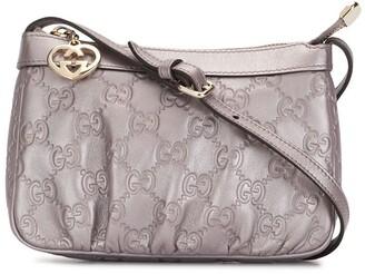 Gucci Pre-Owned mini debossed GG monogram crossbody bag