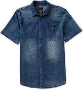 Buffalo David Bitton Siwen Lightweight Printed Denim Shirt