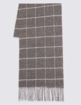 Marks and Spencer Checked Scarf