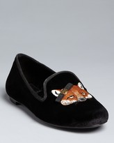 Tory Burch Smoking Shoes - Fox Loafer