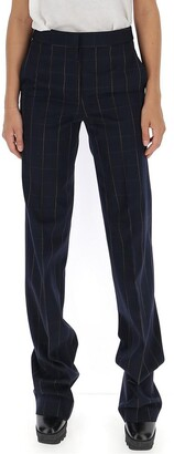 Stella McCartney Wide Fit Check Formal Pants