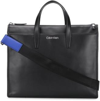 Calvin Klein Leather Laptop Bag
