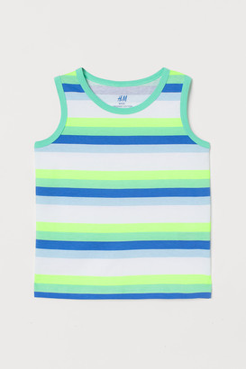 H&M Cotton Jersey Tank Top