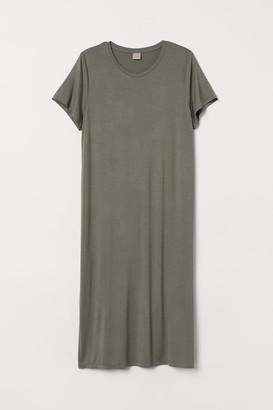 H&M H&M+ Jersey Dress - Green