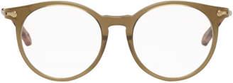 Chloé Khaki Horned Glasses