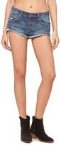 Amuse Society Women's Scenic Studded Denim Shorts