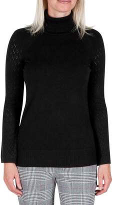 Haggar Long-Sleeve Turtleneck Sweater