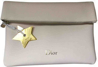 Christian Dior Ecru Synthetic Travel bags