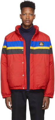 Polo Ralph Lauren Red Down Logo Sport Puffer