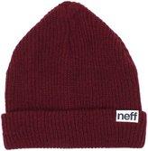 Neff Men's Fold Beanie, Red, One Size