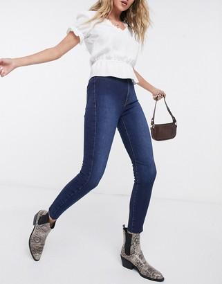 Free People Miles Away skinny jeans in blue