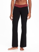 Old Navy Go-Dry Cool Mid-Rise Wide-Leg Yoga Pants for Women