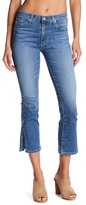AG Jeans Jodi Split Hem Crop Flare Jeans