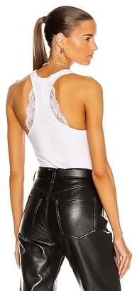 La Perla Souple Bodysuit in White