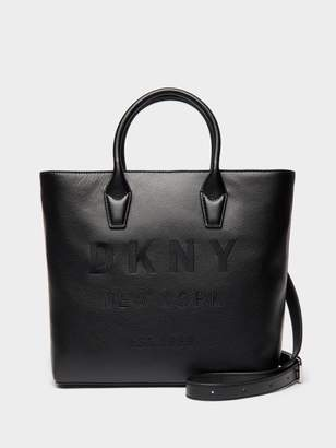 DKNY Hutton Leather Tote