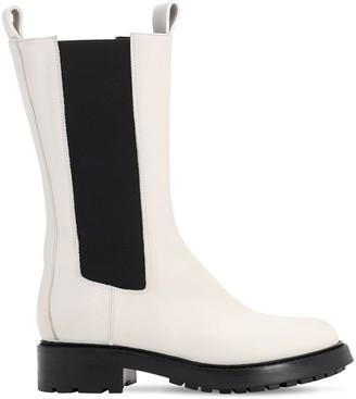 Elena Iachi 20mm Boston Leather Boots