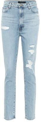J Brand Runway high-rise skinny jeans