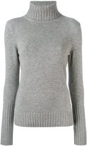 Loro Piana cashmere turtleneck slim-fit jumper - women - Cashmere - 40
