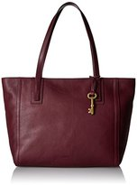 Fossil Emma Tote Cabernet