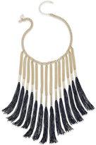 Thalia Sodi Thread Fringe Collar Necklace, Only at Macy's