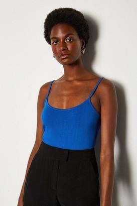 Karen Millen Basic Strappy Jersey Cami