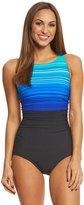Reebok Women's Desert Rays High Neck One Piece Swimsuit 8151503