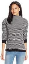 Sanctuary Women's Roller Mock Sweater