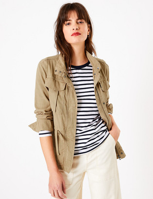 Marks and Spencer Tencel Utility Jacket
