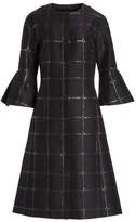 St. John Women's Square Metallic Jacquard Jacket