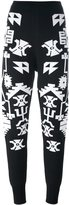 Marcelo Burlon County of Milan 'Longavi' trousers - women - Wool - S